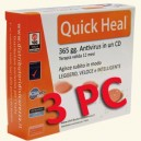 Quick Heal Total Security 2012 per 3 PC